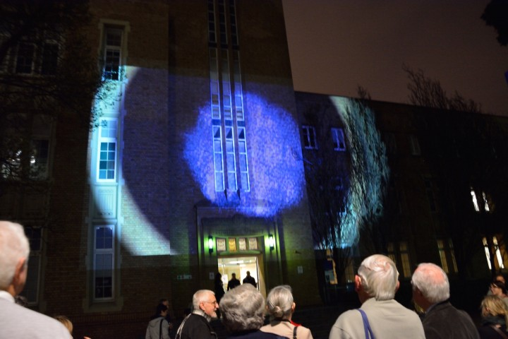 Illuminated: School Chemistry Cultural Collection Projection